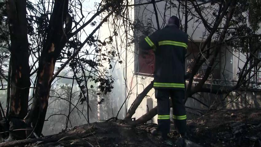 Пожар на нерегламентирано сметище вдигна на крак огнеборците в Русе /ВИДЕО/