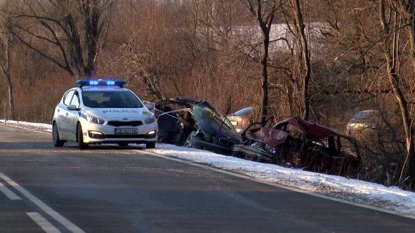 Мъж загина на място след тежка катастрофа във Великотърновско /ВИДЕО/