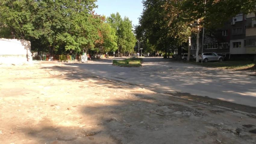 """Сменят ВиК инсталацията под част от булевард """"Трайко Китанчев"""" в Търговище /ВИДЕО/"""