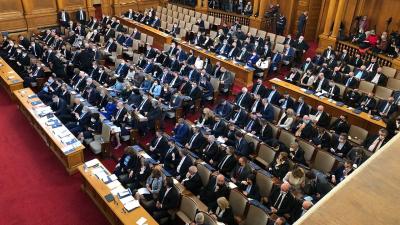 """Народното събрание прие оставката на кабинета """"Борисов 3"""" /ВИДЕО/"""