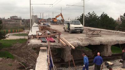 До 15 юни приключва ремонтът на Сарайския мост в Русе /ВИДЕО/