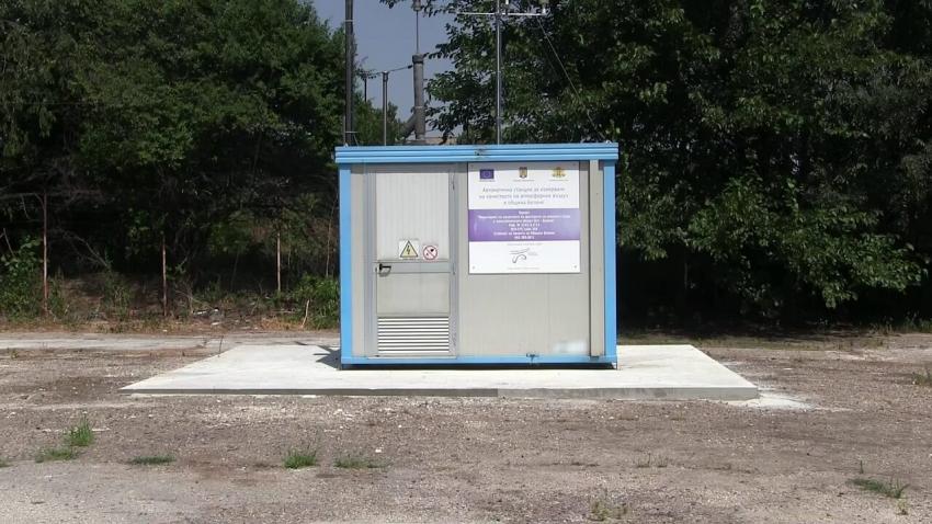 ВИДЕО: Русе се сдоби с пета станция за мониторинг на въздуха в града