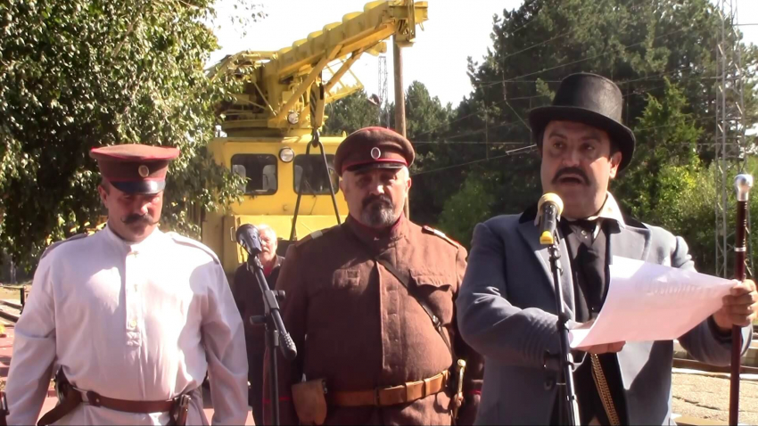 С възстановка Две могили отбеляза Деня на Независимостта на България /ВИДЕО/