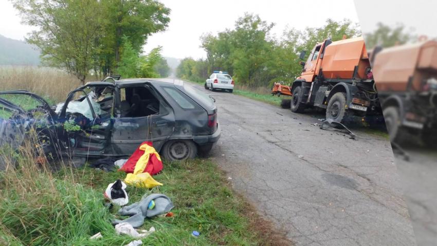 С опасност за живота е 20-годишният младеж от катастрофата на пътя Разград - Дряновец /ВИДЕО/