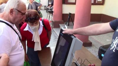 ВИДЕО: Десетки опитаха да гласуват машинно в сливополското село Ряхово
