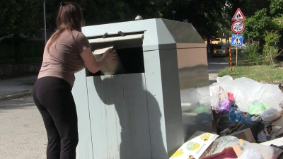 ВИДЕО: Община Русе призовава за пореден път: Не изхвърляйте отпадъци около контейнерите!