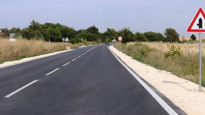 Ремонти на близо 108 километра пътища в Русенско ще бъдат завършени до края на октомври