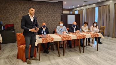 Представиха Георги Кръстев като областен координатор на ГЕРБ - Русе
