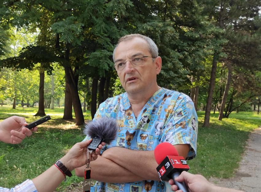 Кметът на Русе е в стабилно състояние, получил симптомите още на 2 юли /ВИДЕО/