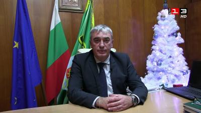 Новогодишно приветствие на кмета на Община Две могили Божидар Борисов /ВИДЕО/