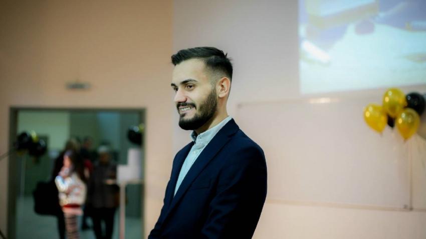Председателят на Студентския съвет към РУ стана част от ръководството на ЕСС /ВИДЕО/