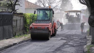 ВИДЕО: Ремонтите на градската инфраструктура в Търговище продължават