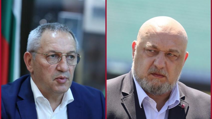 """ВИДЕО: """"Престрелки"""" и в спорта: Служебният министър отправи обвинения за злоупотреби, Кралев отговори"""