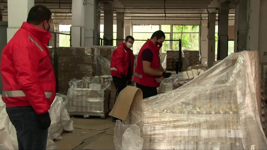 От 2 ноември започва раздаването на храните за нуждащи се в Русе /ВИДЕО/