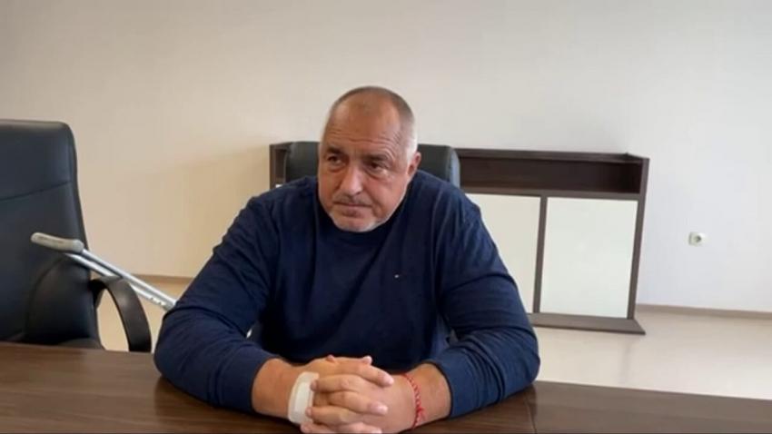Борисов представи проектокабинета на ГЕРБ от болницата /ВИДЕО/