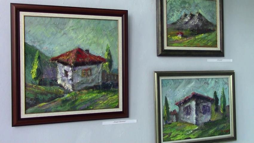 В Разград откриха фамилна изложба на три поколения художници /ВИДЕО/