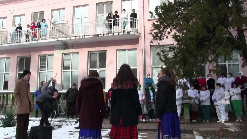 """""""Ротари клуб"""" дари концерт на лекарите от Белодробната болница в Русе /ВИДЕО/"""