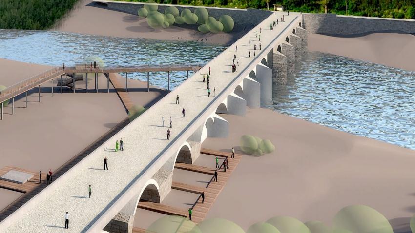 Реставрацията на моста на Колю Фичето край Бяла започва през юни? /ВИДЕО/