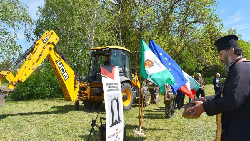 Навръх празника на Българската армия: В Разград започва строежът на нов военен мемориал /ВИДЕО/