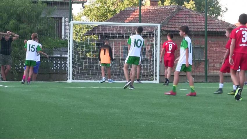Сливополското село Борисово се сдоби с ново спортно игрище /ВИДЕО/