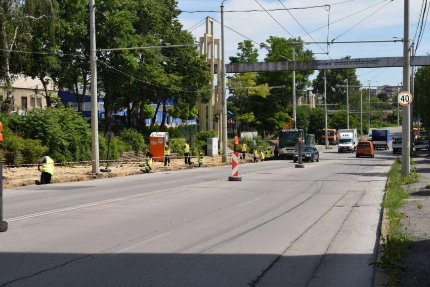 """Първа копка: Ремонтът на булевард """"Трети март"""" в Русе започна"""