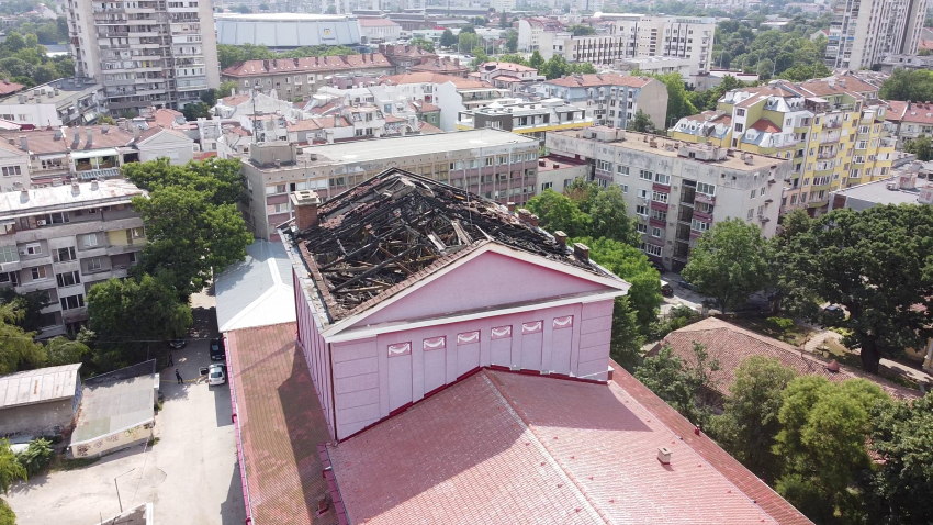 Прокуратурата започва разследване на пожара в русенската опера /ВИДЕО/