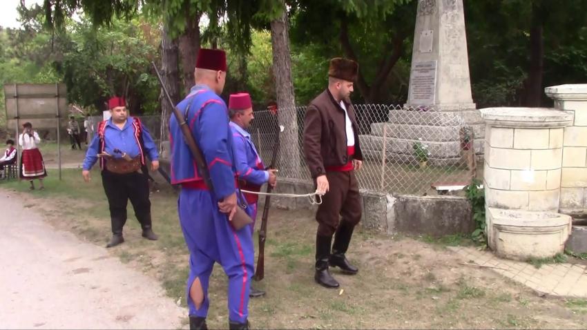В село Широково отбелязаха 145 години от гибелта на войводата на Червеноводската чета Върбан Върбев /ВИДЕО/
