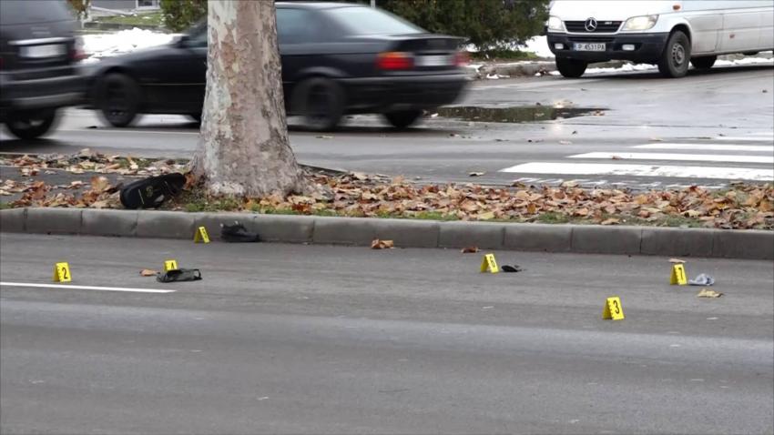 Жена загина на място, след като бе блъсната на пешеходна пътека в Русе /ВИДЕО/